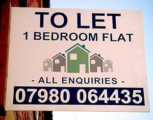 let flat in: